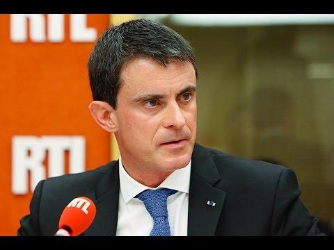 Manuel Valls répond aux questions des auditeurs de RTL