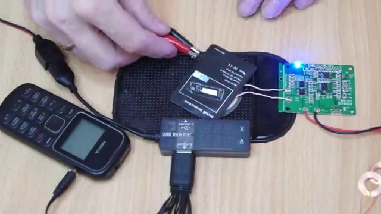 Беспроводные зарядки для телефонов своими руками