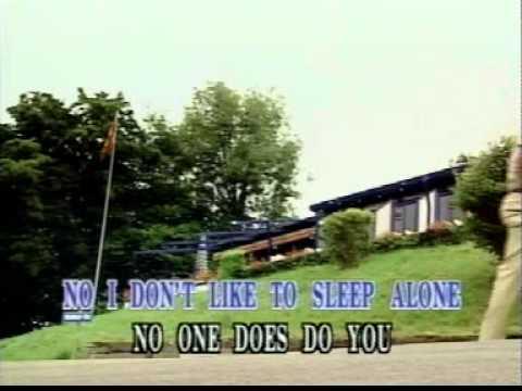 I Don't Like To Sleep Alone by Paul Anka (Lyrics)