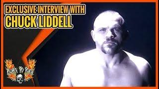 Born To Ride Episode 1182 - Chuck Liddell Interview - BTR Web Exclusive - Fran Haasch