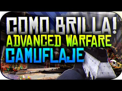 Como Brilla!! Camuflaje Advanced Warfare - Ghosts