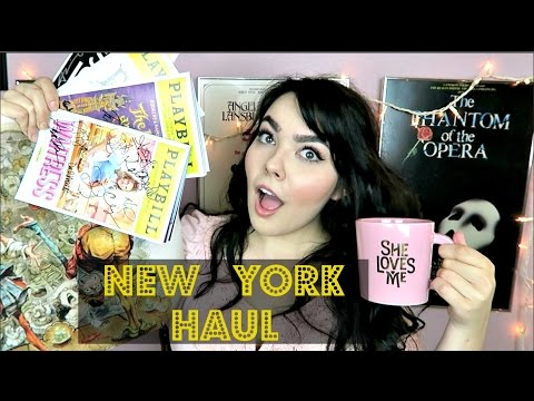 New York Haul + (mini) Broadway Reviews!