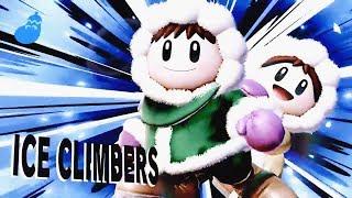 SUPER SMASH BROS ULTIMATE Ice Climbers & Pokemon Trainer Gameplay Demo - Nintendo E3 2018 Demo