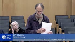 Rude Seattle City Council Members