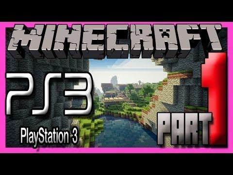 Minecraft Ps3 Edition Multiplayer Gameplay Part 1 STARTING FRESH