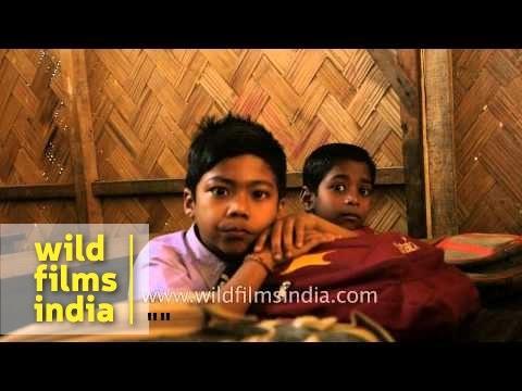 School children in Assam, India