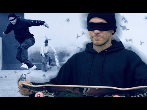 Bird Box Challenge at The Berrics: with David Reyes and Brian Hansen