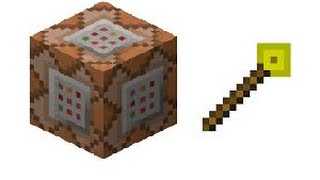 Minecraft One Command Block Creation | Magic Wands