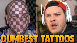 Worst Tattoos - Reaction