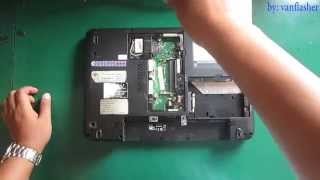 Toshiba Satellite L640 L645 L740 L745 Disassembly