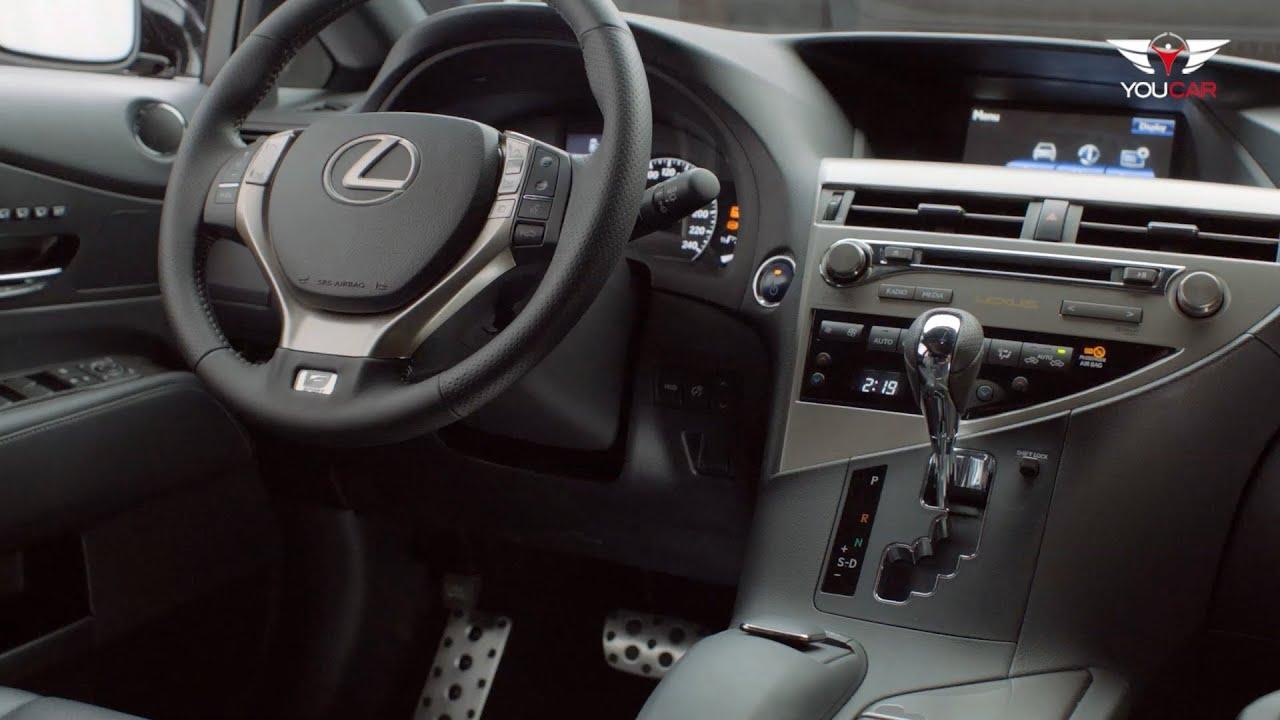 2013 Lexus Rx 450h F Sport Interior Youtube