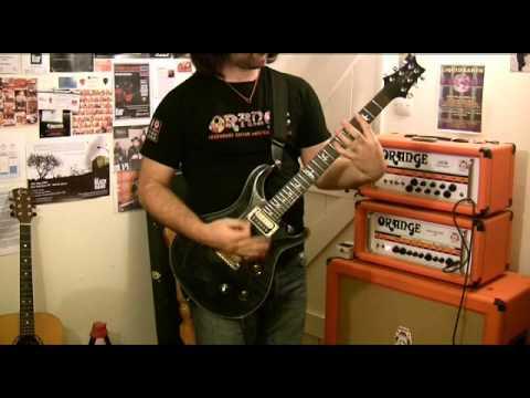 Vox Satchurator demo - Joe Satriani distortion pedal
