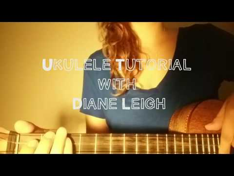 Bubbly - Colbie Caillat (Ukulele Tutorial by Diane Leigh)