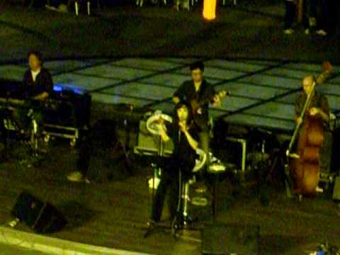 Hong Kong International Jazz Festival 2009(Youn Sun Nah Quartet feat.Eugene Pao) Part 01