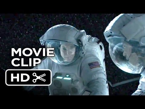 Gravity Movie CLIP - Soul Survivors (2013) George Clooney, Sandra Bullock Movie HD