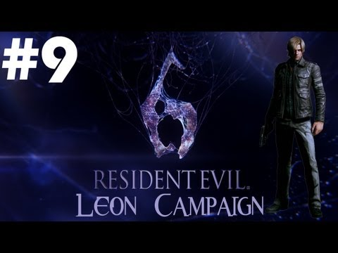 Resident Evil 6 - Walkthrough - Part 9 - [Leon Campaign] - Nude Ada Wong