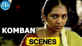 Komban Movie || Karthi Nice Action Scene || Lakshmi Menon, Thambi Ramaiah