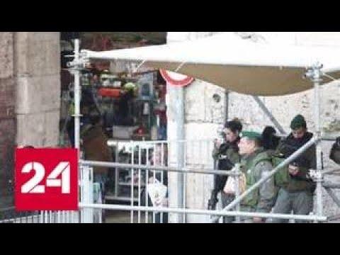 Израиль нанес ряд ударов по военным объектам сектора Газа - Россия 24