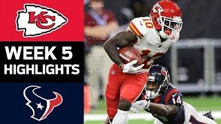 Chiefs vs. Texans | NFL Week 5 Game Highlights