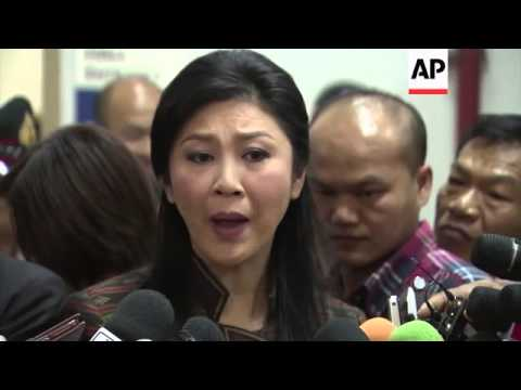 Thailand PM Yingluck Shinawatra says she will not step down