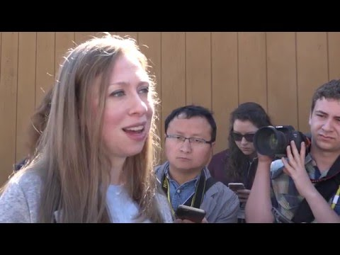 Chelsea Clinton on being at Berkeley