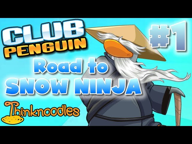 Club Penguin: Road to Snow Ninja - Part 1