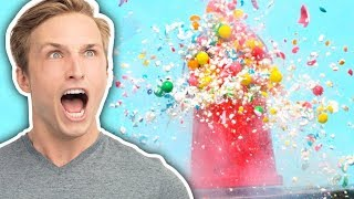 SUPER SLOW MO CANDY SMASHING at 2,000 FPS (Squad Vlogs)
