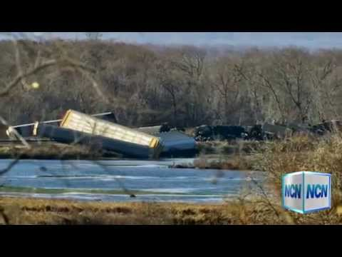 Train Derailment Prompts Evacations In Wisconsin