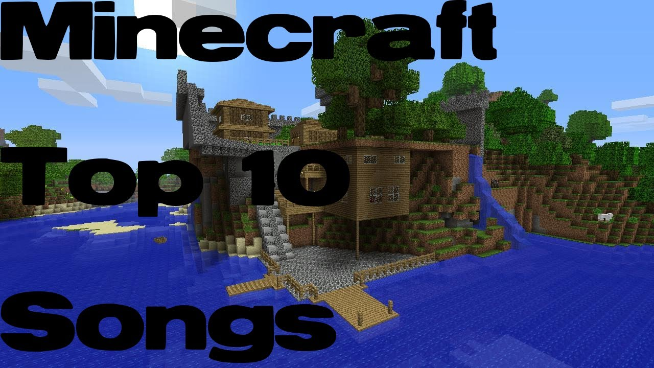 youtube top 10 music minecraft