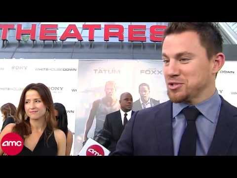 White House Down Red Carpet - Channing Tatum, Jamie Foxx, Roland Emmerich