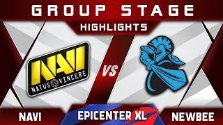 NaVi vs Newbee [EPIC] EPICENTER XL Major 2018 Highlights Dota 2