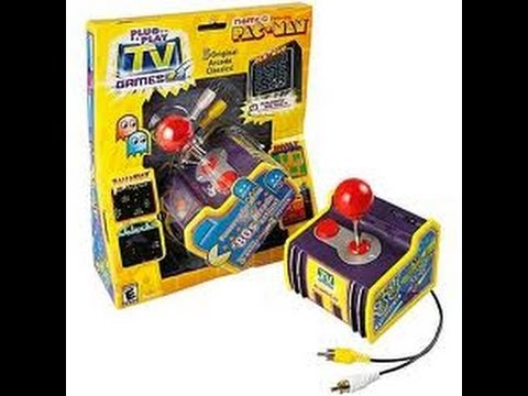 Review of Jakks Namco Plug in Play 5 in 1 by Protomario