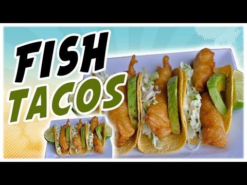 Crispy Fish Tacos Recipe / Tacos de Pescado