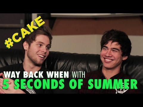 5 Seconds Of Summer's #CAKE talk first kisses & getting drunk in 'granny flats'