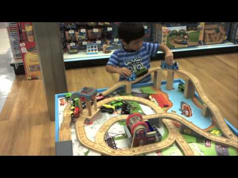 Thomas the Train Wooden Railway Table Playset @ Toys R Us