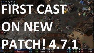 Starcraft 2 - NEW PATCH CAST! - TvT - SpeCial vs MaSa on Automaton