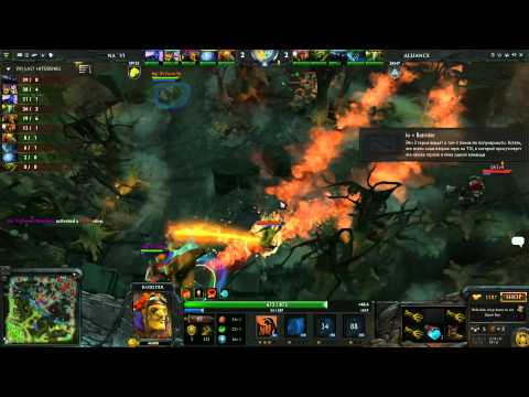Alliance vs Na'Vi   Grand Championship 2 of 5   Russian Commentary