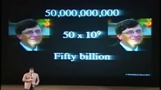 Hillarious! Neil Tyson calculated how rich Bill Gates is