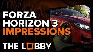 Forza Horizon 3 Impressions - The Lobby