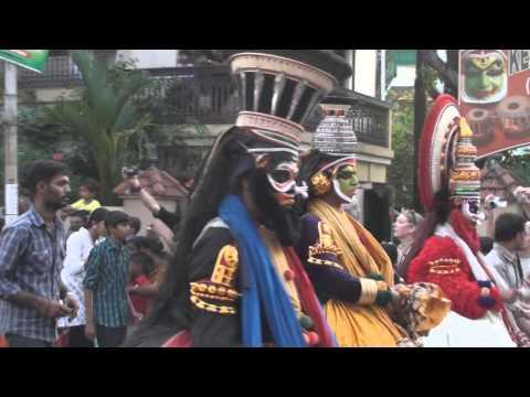 The city of Cochin, Kerala, India