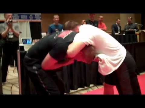 Matt Hughes training for UFC 135 Image 1