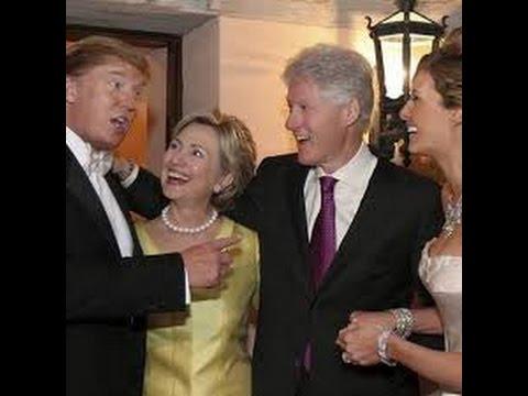 СЕНСАЦИЯ!!Дональд Трамп и Хилари Клинтон брат и сестра 24.12.2016