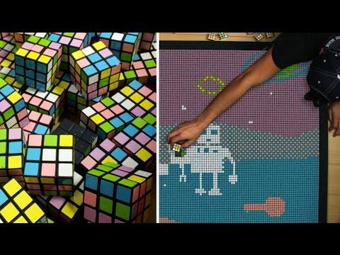 Rubik's Cube Animation