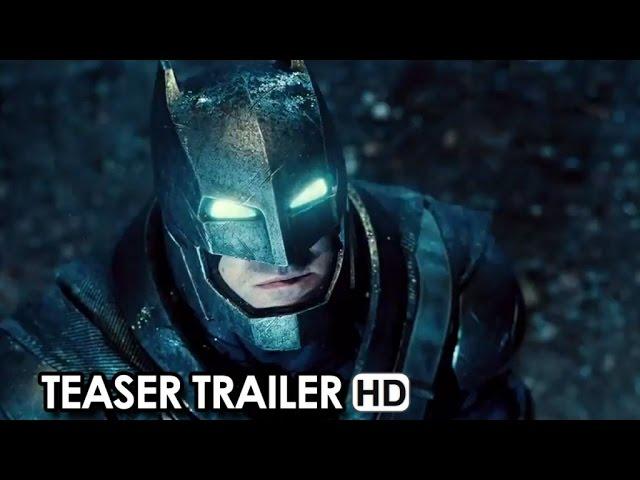 Batman v Superman: Dawn of Justice Teaser Trailer (2016) - Henry Cavil, Ben Affleck HD