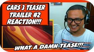 Cars 3 Official Teaser Trailer #2 (2017) Disney Pixar Animated Movie HD REACTION!!!
