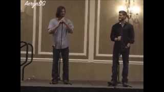 Jared Padalecki & Jensen Ackles - Russian Polish Dance | NashCon 2011