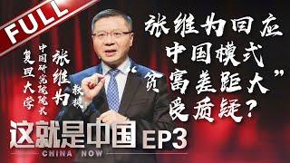 """【Full】《这就是中国》第3期:张维为教授遭遇犀利问题!中国模式受质疑!如何解决""""贫富差距""""越来越大? 【东方卫视官方高清】"""