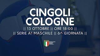 Serie A1M [6^]: Cingoli - Cologne 33-25