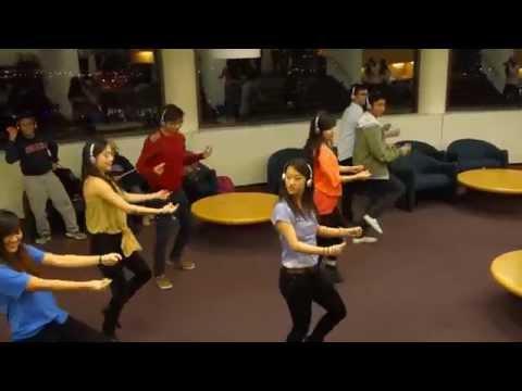 Breakfree Silent Library Flashmob – Video