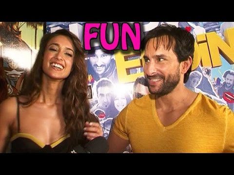 Saif Ali Khan and Ileana Dcruz's FUN MOMENTS with zoOm! | EXCLUSIVE